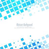 Moderner Hintergrund des abstrakten blauen Mosaiks vektor