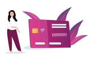 Kreditkartenzahlungen vektor