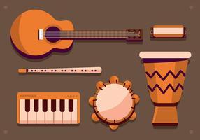 musikinstrument knolling