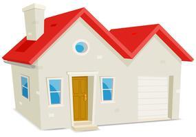Haus und Garage vektor