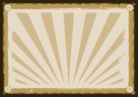Grunge-Retro-Vintage-Hintergrund-Rahmen vektor