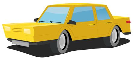 Tecknade bil vektor