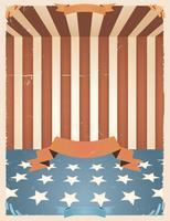 Amerikanische Feiertage Hintergrund vektor