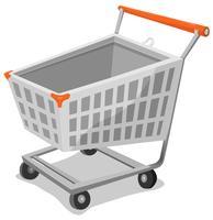 Cartoon-Einkaufswagen