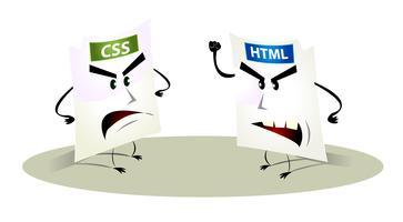 Filer Konflikt - Fel 404 vektor