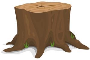 Baumstumpf vektor