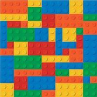Blöcke von Farben Hintergrund vektor