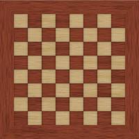 Holz Schachbrett Hintergrund vektor