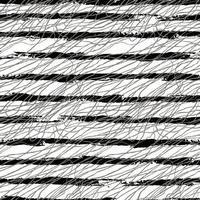 Vektor moderner nahtloser Hintergrund mit grauen handgezeichneten horizontalen Linien, Kritzeleien. Verwenden Sie es für Tapeten, Textildruck, Musterfüllungen, Web, Oberflächenstruktur, Geschenkpapier, Präsentationsdesign