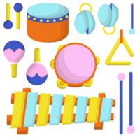 Vektor-Instrument des Musikinstrumentes