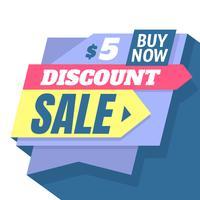 Verkaufsvorlage vektor