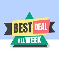Bester Deal vektor