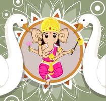Lord Ganesh Vektor