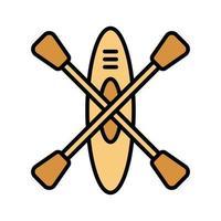 Boot Kajak Symbol vektor