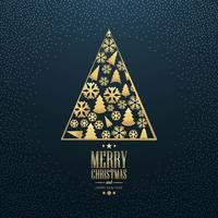 Schöner Kartenhintergrund der frohen Weihnachten vektor