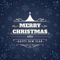 Festival funkelt Hintergrundvektor der frohen Weihnachten vektor
