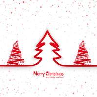 Moderner Festivalhintergrund der frohen Weihnachten vektor