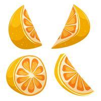 Tecknad citron vektor