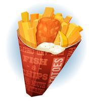 Fisk och Chips Cornet