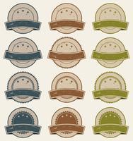Vintage Retail Badges, Utmärkelser Och Banderoller vektor