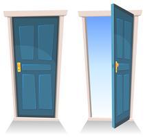 Türen, geschlossen und offen