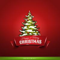 Julhälsningskort vektor