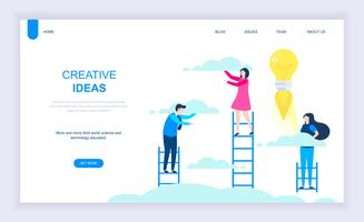 Kreative Idee Web Banner vektor