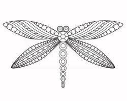 libelle vektorgrafik illustration vektor