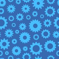 Kuggar sömlösa mönster, teknisk bakgrund, illustration