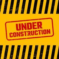 Under konstruktion design, webbplats utveckling koncept, illustration