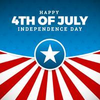 Självständighetsdag design, semester i USA,