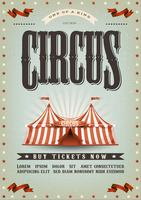 Zirkus-Plakatgestaltung vektor