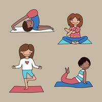barn yoga klass