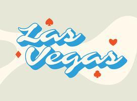 Las Vegas Typografie Design vektor