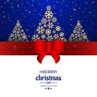 Dekorativer Hintergrund der Karte der frohen Weihnachten vektor