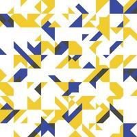 kompliziertes geometrisches nahtloses Musterdesign des Vektors vektor