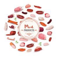 Delikatessenprodukte für Fleischprodukte