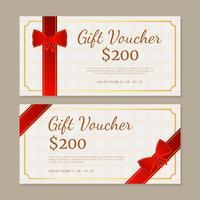 Geschenkgutschein-Vorlage