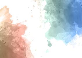 Akvarell abstrakt bakgrund vektor
