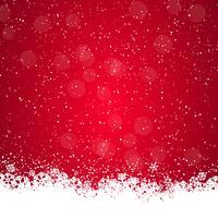 Weihnachtshintergrund mit Schneeflocken