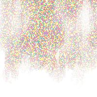 Techno-Quadrate Hintergrund