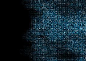 Abstrakter Techno quadriert Hintergrund vektor