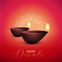 Dekorativa Diwali bakgrund