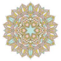 Dekoratives Mandala-Design vektor
