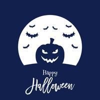 Halloween Kürbis Hintergrund vektor