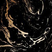 Abstrakte Schwarz- und Goldbeschaffenheit