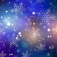 Weihnachten Schneeflocke Hintergrund