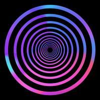 Abstrakter holografischer Effekthintergrund