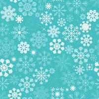 Seamless Christmas Snowflakes Bakgrund vektor