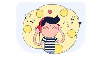 kärlek musik vektor